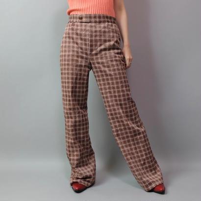 Vintage   Check Frea Pants