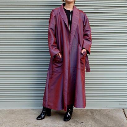Vintage   Shiny Long Coat