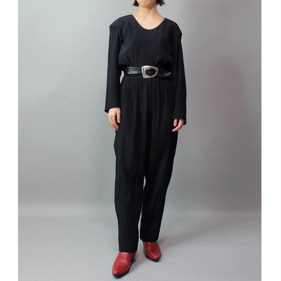 Vintage   Pleats Jumpsuits