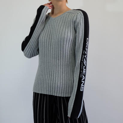 VINTAGE DKNY COTTON KNIT