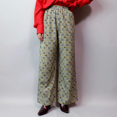 Vintage   Check Easy Pants