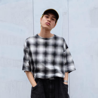 VINTAGE   SHADOW CHECK TOPS