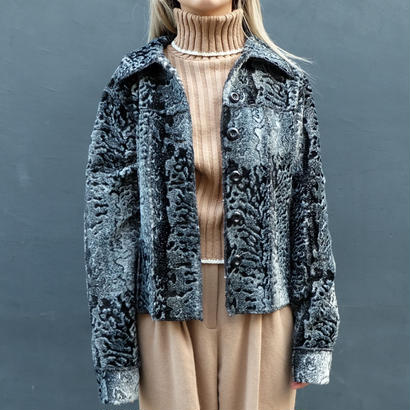 Vintage   Fake Fur Jacket