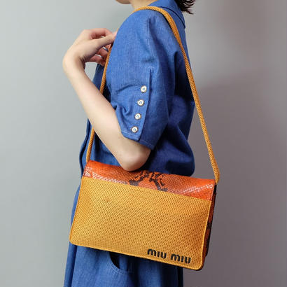 Vintage   min miu  Shoulder Bag