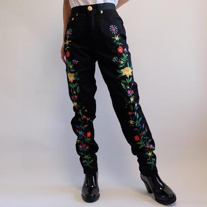 VINTAGE   MOSCHINO  刺繍 PANTS