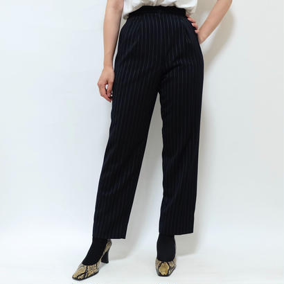 VINTAGE   STRIPE SLACKS PANTS