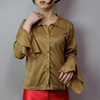 Vintage   Frill Design Shirt