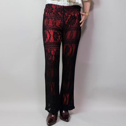 Vintage   Lace Layered Pants