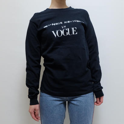 VINTAGE   VOGUE  LONG TSHIRT