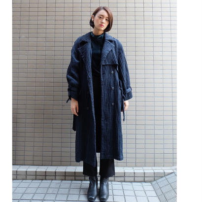 Vintage   Knit Trench Coat