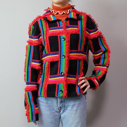 Vintage   Design Knit Jacket
