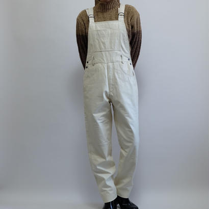 VINTAGE   LEATHER OVERALL