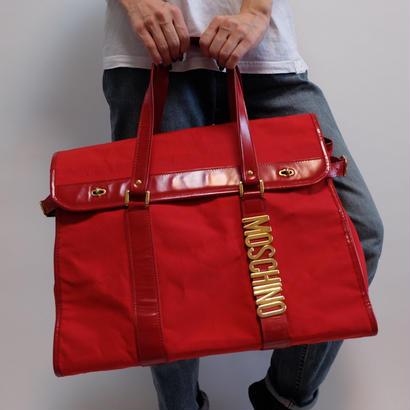 VINTAGE  MOSCHINO  BOSTON BAG