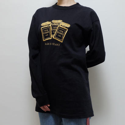 VINTAGE   EMBROIDERY LONG TSHIRT