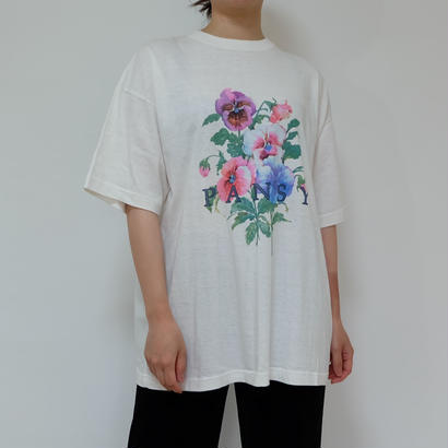 VINTAGE   FLOWER TSHIRT