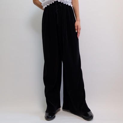 VINTAGE   FRINGE WIDE PANTS