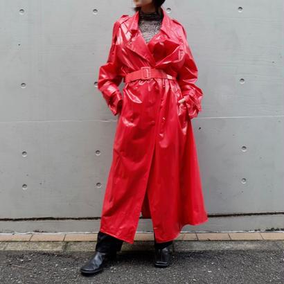 Vintage   Vinyl Trench coat