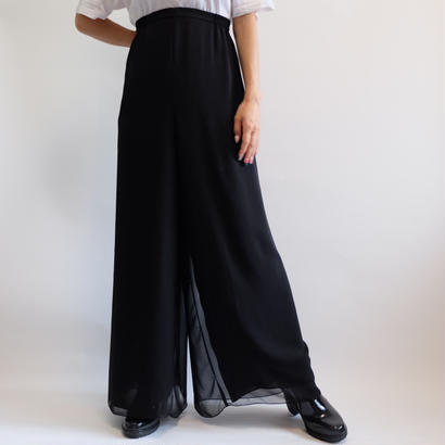 VINTAGE  WIDE SLACKS PANTS