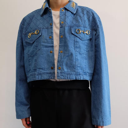 VINTAGE  BIT DENIM JACKET