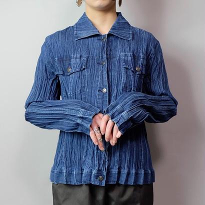 Vintage   Pleats  Shirt