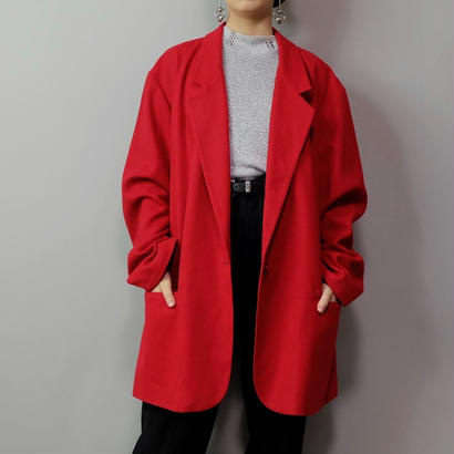 Vintage   Wool Bigsize Tailored Jacket