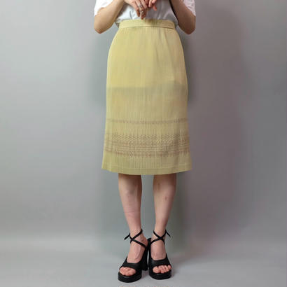 Vintage   Pleats Skirt