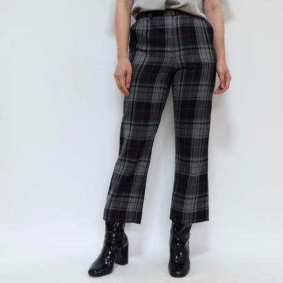 VINTAGE   MOSCHINO  CHECK PANTS