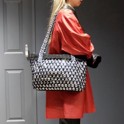 Vintage   Design Knit Bag