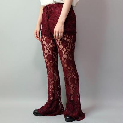Vintage   Lace Frea Pants
