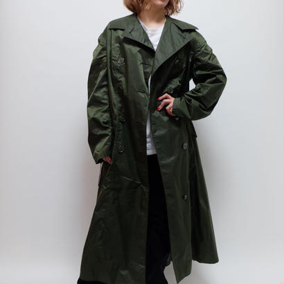 VINTAGE    NAYLON TRENCH COAT