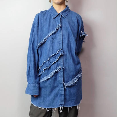 Vintage   Denim Design Shirt