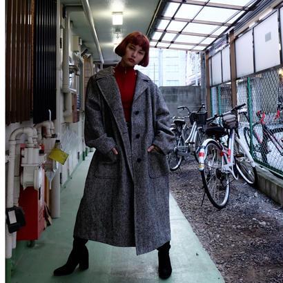 Vintage   Tweed Long Coat