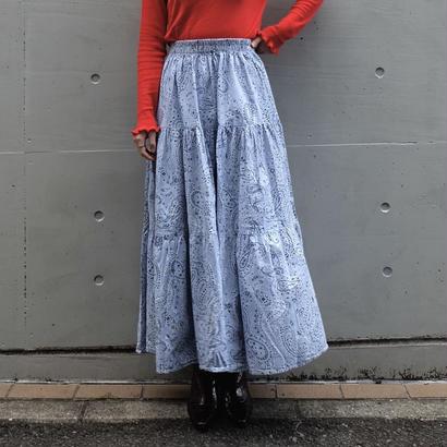 Vintage   Paisrey Long Skirt