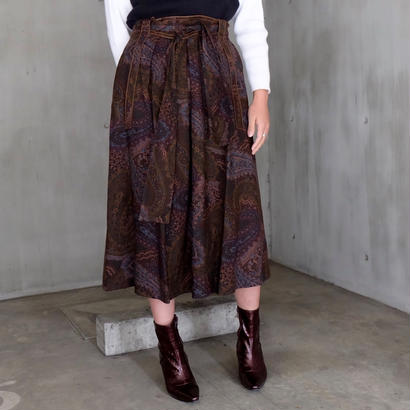 Vintage   Paisley Long Skirt