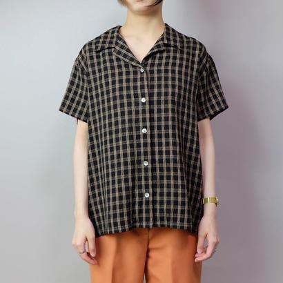 Vintage   Polyester Check Shirt