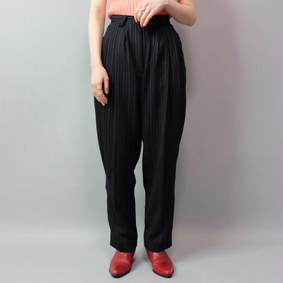 Vintage   Stripe  Slacka Pants