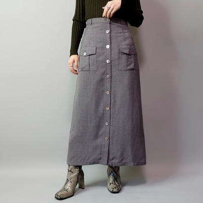 Vintage   Botton Design Skirt