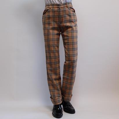 VINTAGE   Burberrys Bluelabel    CHECK PANTS