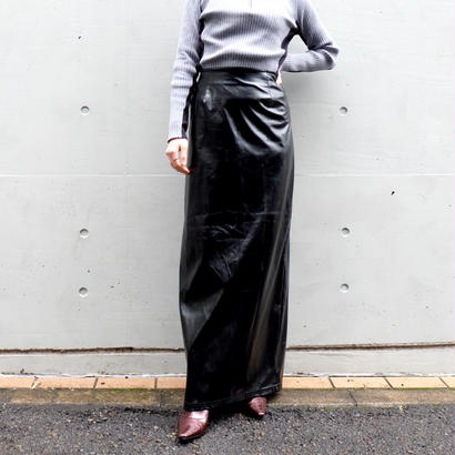 Vintage   Shiny Long Skirt