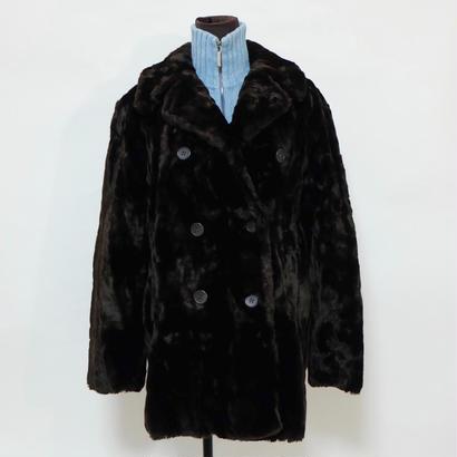 Vintage  Calvin Klean Fake Fur Coat