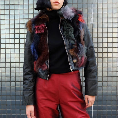 Vintage   Fur Leather Jacket
