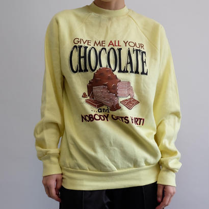 VINTAGE   CHOCOLATE SWEAT