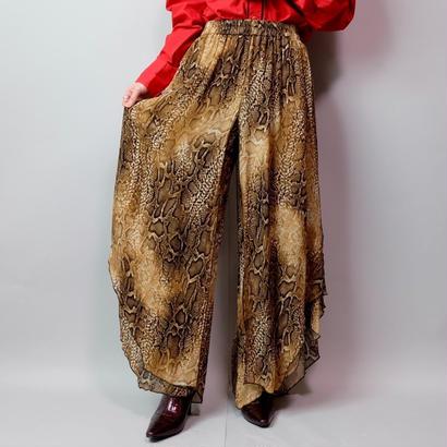 Vintage   Leyered Python Pants