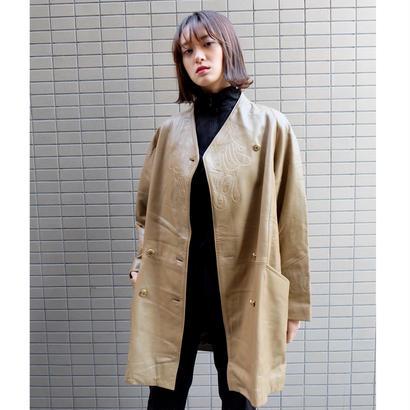 Vintage   Desgn Leather Coat
