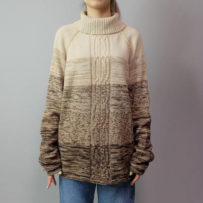 Vintage   Boder Turtle Knit