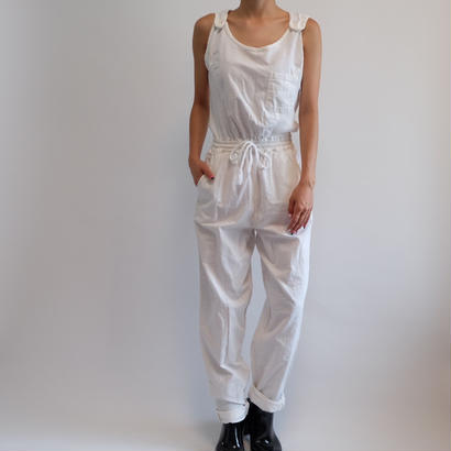 VINAGE   WHITE JUMP SUIT