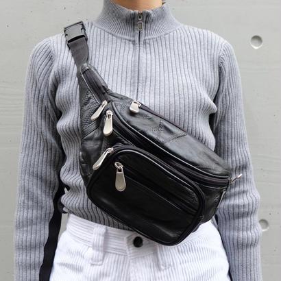 Vintage   Leather West Bag