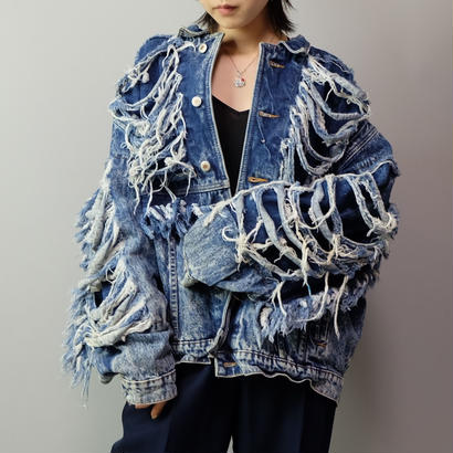 Vintage   Design Denim Jacket
