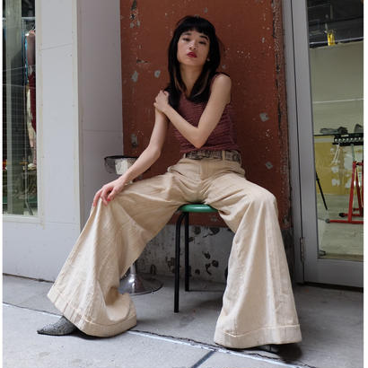 VINTAGE   MOSCHINO WIDE PANTS