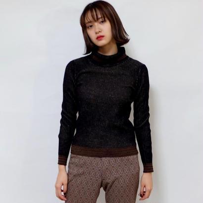 vintage   Line Turtle knit